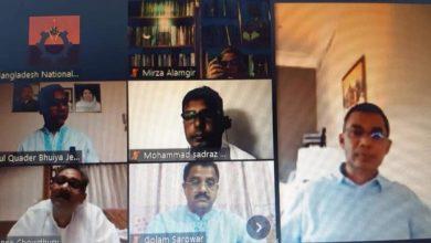 Photo of জাতীয়তাবাদী স্বেচ্ছাসেবক দলের সভাপতি মরহুম শফিউল বারী বাবুর প্রথম মৃত্যুবার্ষিকী পালিত